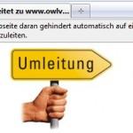 Mozilla Firefox: Automatische Umleitungen verhindern