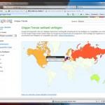 Google Grippe Trends: Mit Google Grippe-Infektionen verfolgen