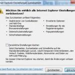 Internet Explorer Reset: Den Browser zurücksetzen