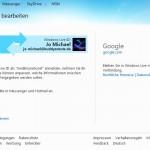 Google mit Windows Live-Konto verbinden