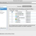 Mac OS: Autostart von Programmen unterbinden