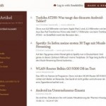 Online-Artikel als eBook speichern