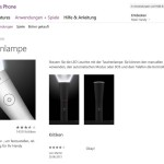Smartphone als Taschen-Lampe nutzen