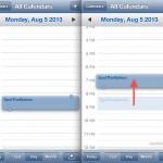iOS-Kalender: Ereignisse und Termine einfacher verschieben