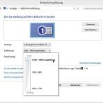 Verwendete Bildschirm-Auflösung ändern