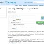 PDF-Dateien mit Gratis-OpenOffice bearbeiten