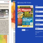 Ausdrucken mit Modern-UI-Apps (Windows-8-Stil)