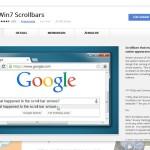 Google Chrome-Browser: Pfeile beim Scrollen wiederherstellen