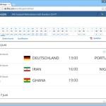 Die FIFA-WM 2014: Spielplan kostenlos downloaden