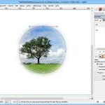 GIMP: Foto auf eine bestimmte Kontur zuschneiden