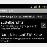 Android-Smartphones: SMS-Lesebestätigung anfordern