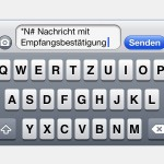 iPhone: Lesebestätigung für gesendete SMS-Nachrichten anfordern