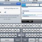 iPhone: Eigene Mail-Adresse schneller eintippen