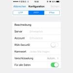 iOS: So richten Sie eine VPN-Verbindung ein