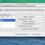 Systemsprache Ihres Macs ändern
