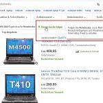 Benachrichtigungs-eMails für eBay-Suchanfragen abonnieren