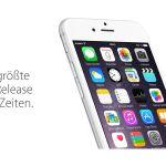 iOS 8.0.1 ein Versenker