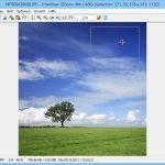 IrfanView: Bestehende Bild-Markierung per Maus verschieben