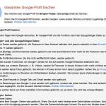 So schließen Sie Ihr Google-Plus-Konto