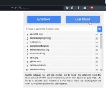 Schnelle Alternative zum Firefox-Add-On Adblock Plus