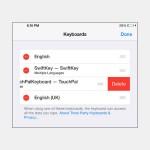 iOS 8: Drittanbieter-Tastatur entfernen