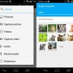 Android: Google-Bilder direkt in eine neue eMail einfügen