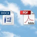 Dokumente weitergeben – als DOCX oder als PDF?