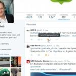 Twitter: Favorisierte Tweets entfernen