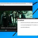 Bedeutung von Wörtern in Video-Untertiteln nachschlagen