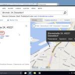 Längen- und Breiten-Grad mithilfe von Bing Maps herausfinden