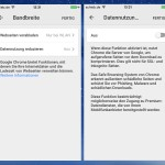 Mobiler Chrome-Browser: Daten-Verbrauch ohne WLAN reduzieren