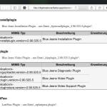 Welche Plug-Ins sind im Safari-Browser installiert?