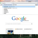 Chrome: Direkt auf bestimmten Webseiten suchen