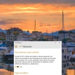 """Windows 8.1/10: Netzwerk auf """"Privat"""" stellen"""