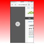 Chrome-Browser am iPhone mit Wisch-Gesten bedienen