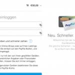 PayPal Onetouch macht Bezahlen einfacher