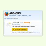Firefox: Webseiten schneller in einem Hintergrund-Tab öffnen