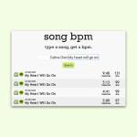 Herausfinden, ob ein Song schnell oder langsam ist