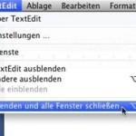 Mac OS X Lion: Fenster nicht wiederherstellen