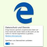 Kennwörter im Edge-Browser nicht speichern