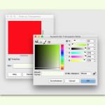 GIMP: Einfarbigen Hintergrund durchsichtig machen