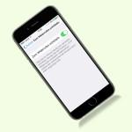 iOS 9: Getippten Text beim Schütteln nicht löschen