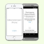 Schnell und einfach von Android nach iOS umziehen