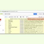 Gmail: Alle eMails eines bestimmten Labels auf einmal löschen