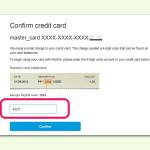 Bank-Konto in PayPal bestätigen