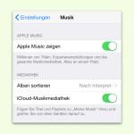 Werbung für Apple Music in der Musik-App von iOS ausblenden