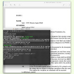 Linux: Dokumentation für Befehle als PDF-Datei lesen
