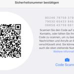 WhatsApp und die QR-Codes: Wie bestätige ich einen Kontakt?