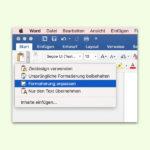 Text ohne lästigen Website-Hintergrund in Word übernehmen