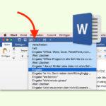 Mehrere Schritte in Microsoft Office-Programmen rückgängig machen